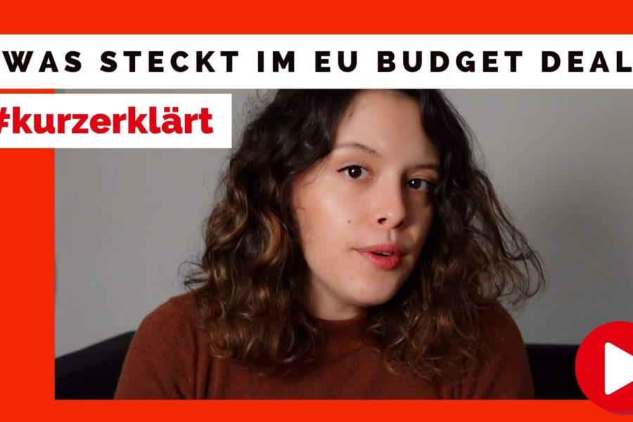EU Budget kurz erklärt