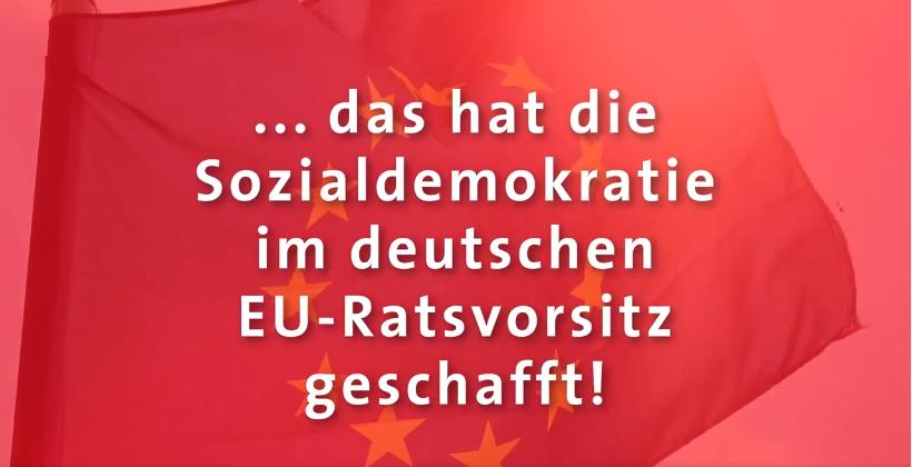 Erfolge deutsche Ratspräsidentschaft
