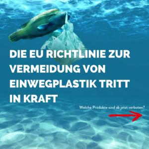 Richtlinie gegen Einwegplastik